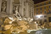 Fountain Trevi In Rome