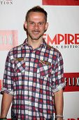 LOS ANGELES - OCT 2:  Dominic Monaghan arrives at the Empire US for iPad Launch at Sunset Tower Hote