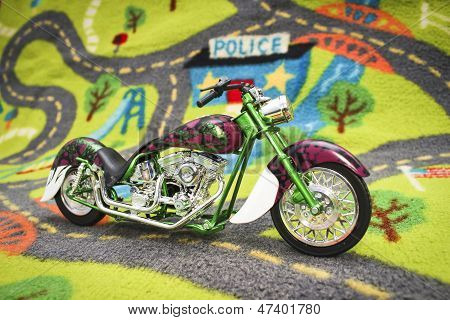 Custom cruiser bike miniature