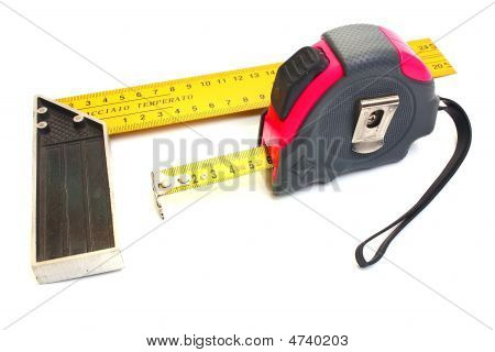 Roulette For Measuring Of Length