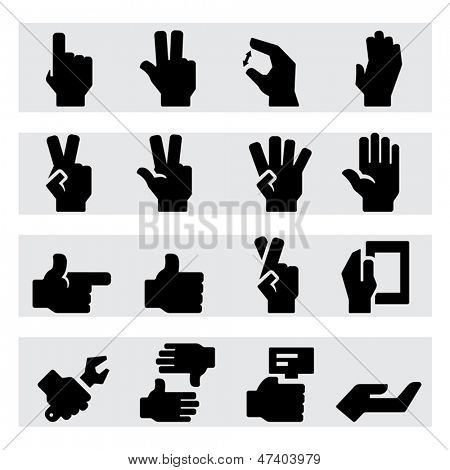 Hands Icons Two