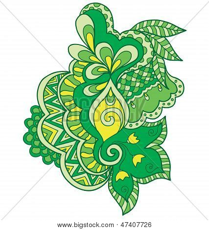 Vector Illustration Of Abstract Ornament
