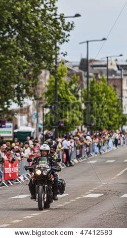 Official Bike During Le Tour De France