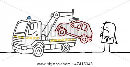 car impounded