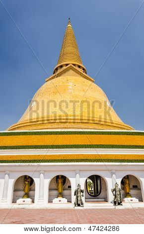 Phra Pathom Chedi In Thailand