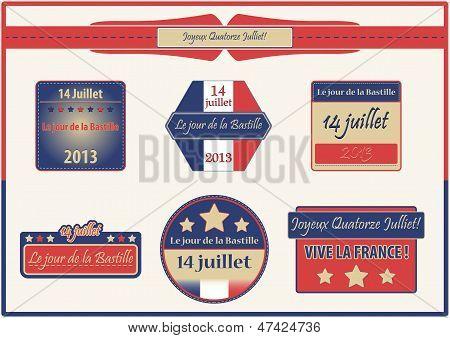 Bastille Day, July 14th