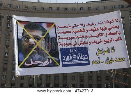 30 June Protests Against Morsi & Muslim Brotherhood
