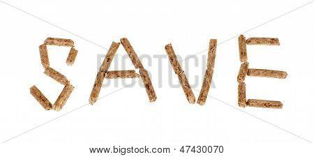Holzpellets