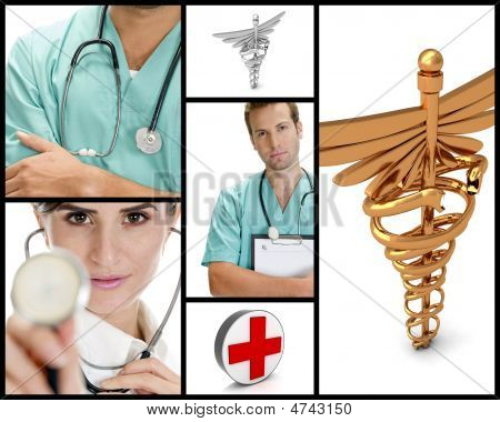 Medical Doctor Collage
