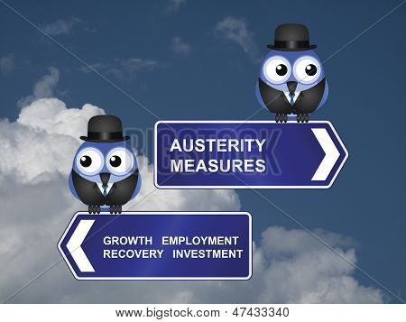 Austerity measures signs