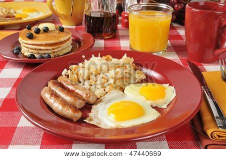 Sausage And Eggs