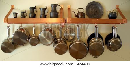 Hanging Pots And Pans 3