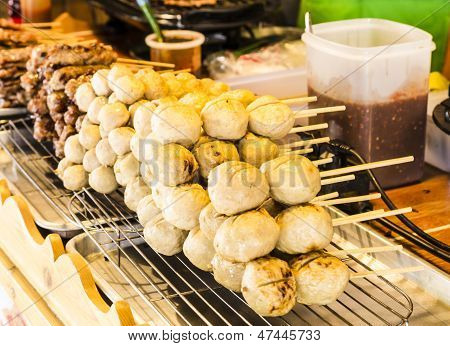 Meatballs On Sticks