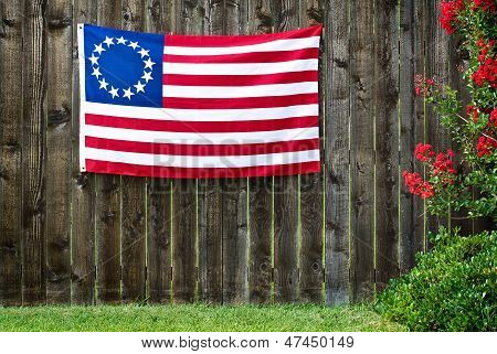 13 Star American flag, the Betsy Ross flag