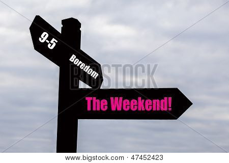 Weekend - Signpost.