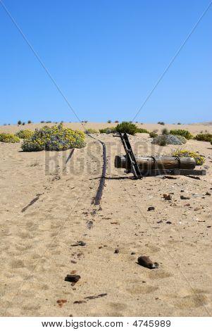 Abandoned Desert Railway