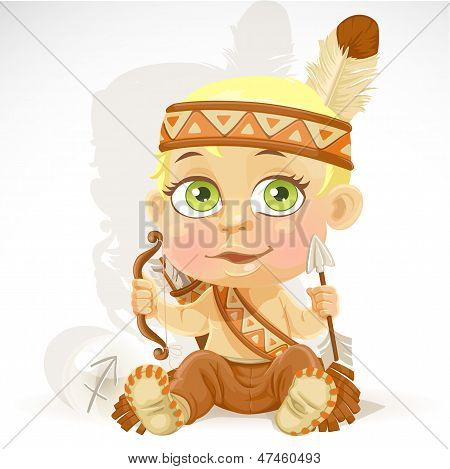 Bebé Zodiaco - signo Sagitario