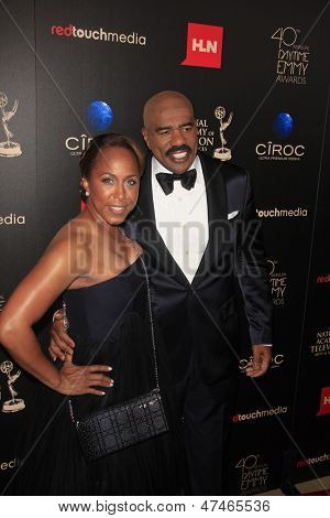 BEVERLY HILLS - JUN 16: Steve Harvey at the 40th Annual Daytime Emmy Awards at The Beverly Hilton Hotel on June 16, 2013 in Beverly Hills, California