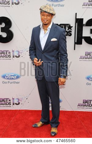LOS ANGELES - JUN 30: Terrence Howard at the 2013 BET Awards at Nokia Theater L.A. Live on June 30, 2013 in Los Angeles, California