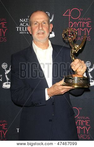 BEVERLY HILLS - JUN 16: Sande Stewart accepts the Lifetime Achievement Award on behalf of producer Bob Stewart at the 40th Annual Daytime Emmy Awards on June 16, 2013 in Beverly Hills, California