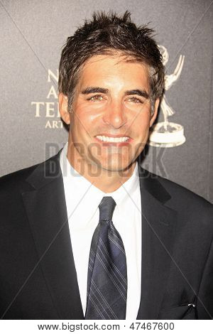 BEVERLY HILLS - JUN 16: Galen Gering at the 40th Annual Daytime Emmy Awards at The Beverly Hilton Hotel on June 16, 2013 in Beverly Hills, California