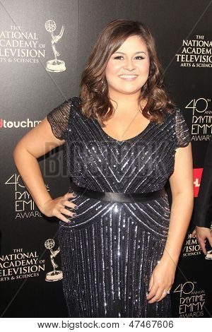 BEVERLY HILLS - JUN 16: Angelica McDaniel at the 40th Annual Daytime Emmy Awards at The Beverly Hilton Hotel on June 16, 2013 in Beverly Hills, California