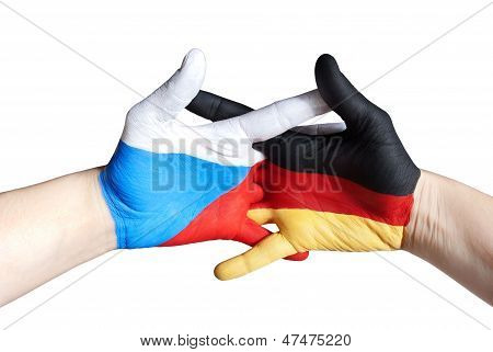 Czech And German Hands