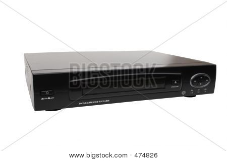 Black Dvd Player