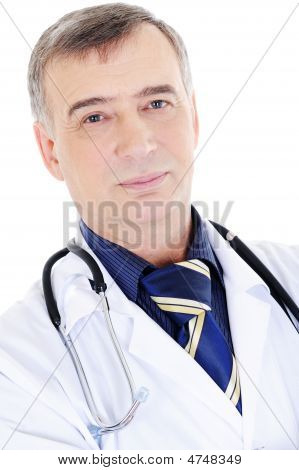 Mature Candid Male Doctor