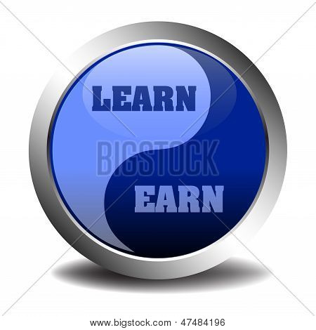 Learn and earn sign