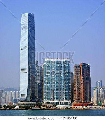 High Rises in Kowloon, Hong Kong SAR, China.
