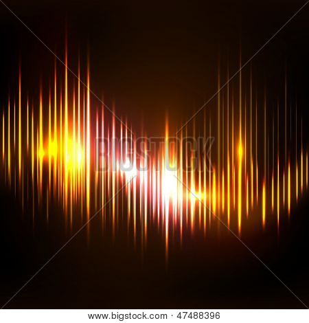 Abstract colorful musical  background, banner, poster or flyer.