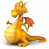 picture of dragon head  - Fun dragon - JPG