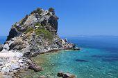 Постер, плакат: Остров Скопелос в Греции