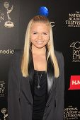 BEVERLY HILLS - JUN 16: Alli Simpson at the 40th Annual Daytime Emmy Awards at The Beverly Hilton Ho