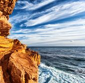 stock photo of south-western  - Rocky headland on the Atlantic coast of the Cape Peninsula - JPG