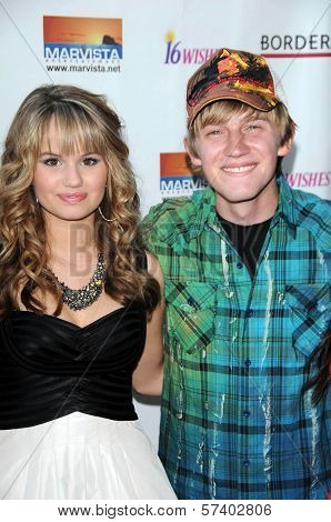 Debby Ryan and Jason Dolley at the