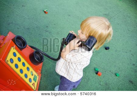 Phone Child Playing