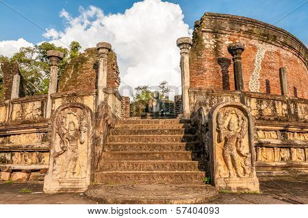 Ancient Temple Of Polonnaruwa