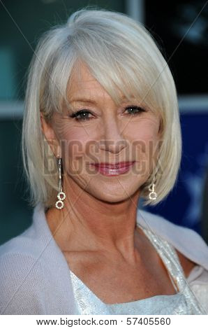 Helen Mirren at the