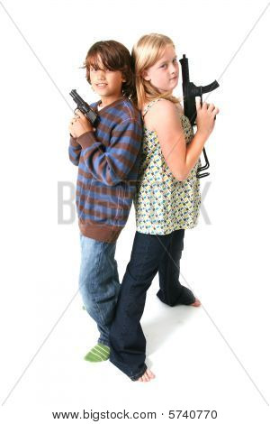 Child With Gun Crime