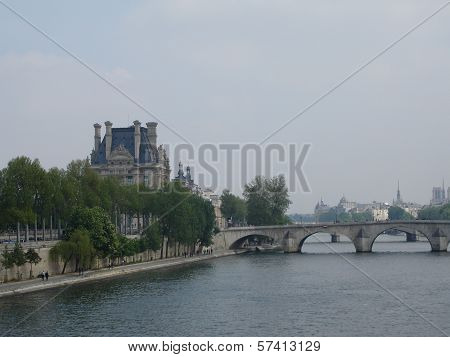 Across the Seine River
