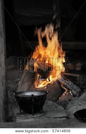 Cauldron On The Fire