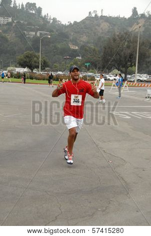 Amaury Nolasco at the Padres Contra El Cancer Annual Stand for Hope 5K Run Walk, Rose Bowl, Pasadena, CA. 06-26-10
