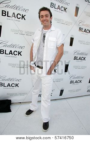 Stephen Katz at the Cadillac Men's Fragrance Celebrity White Party, Style Lounge, Studio City, CA. 06-29-10