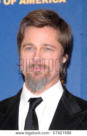 Brad Pitt at the 62nd Annual DGA Awards - Press Room, Hyatt Regency Century Plaza Hotel, Century City, CA. 01-30-10