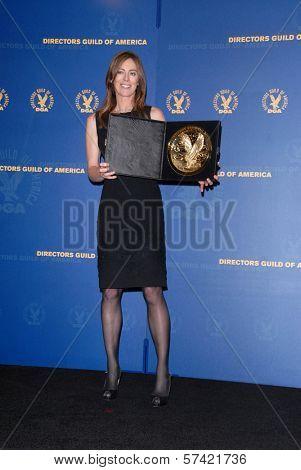 Kathryn Bigelow at the 62nd Annual DGA Awards - Press Room, Hyatt Regency Century Plaza Hotel, Century City, CA. 01-30-10
