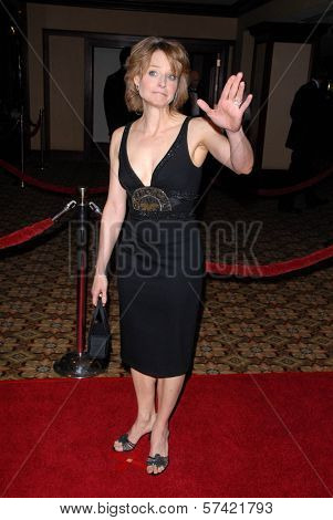 Jodie Foster at the 62nd Annual DGA Awards - Arrivals, Hyatt Regency Century Plaza Hotel, Century City, CA. 01-30-10