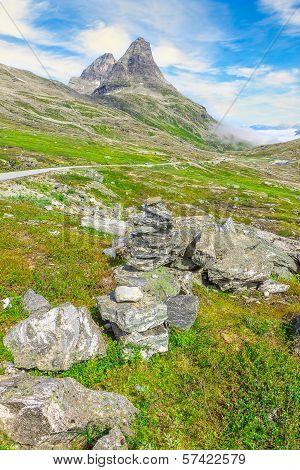 Trollstigen (troll's Road) road in Norway