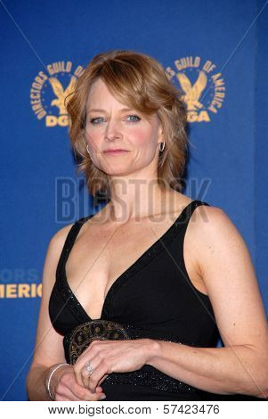 Jodie Foster  at the 62nd Annual DGA Awards - Press Room, Hyatt Regency Century Plaza Hotel, Century City, CA. 01-30-10